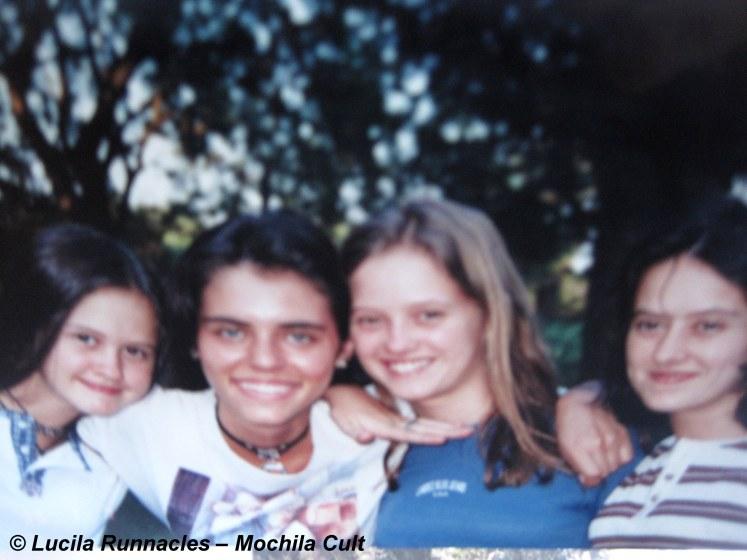 Minhas amigas; Belén, eu, Maria José e Silvita, em Córdoba