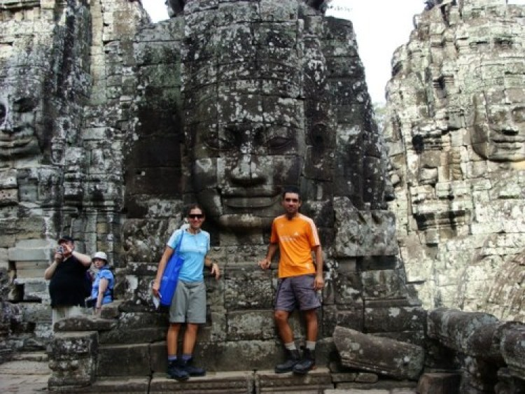 Eles também passaram pelo Camboja