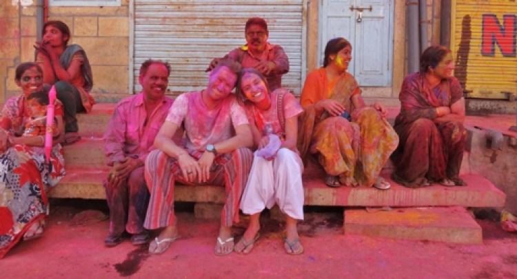 Índia - Holi, o Festival das Cores
