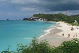 Antigua e Barbuda, praias e cores