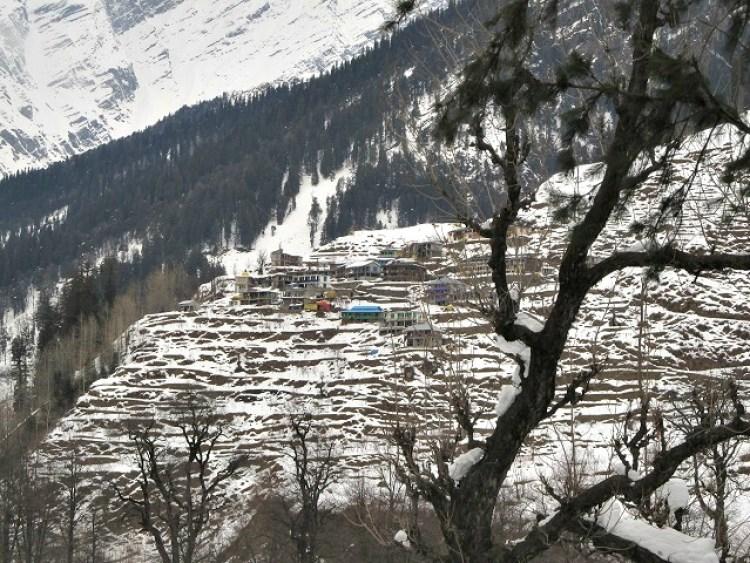 Manali, no Himalaia Indiano