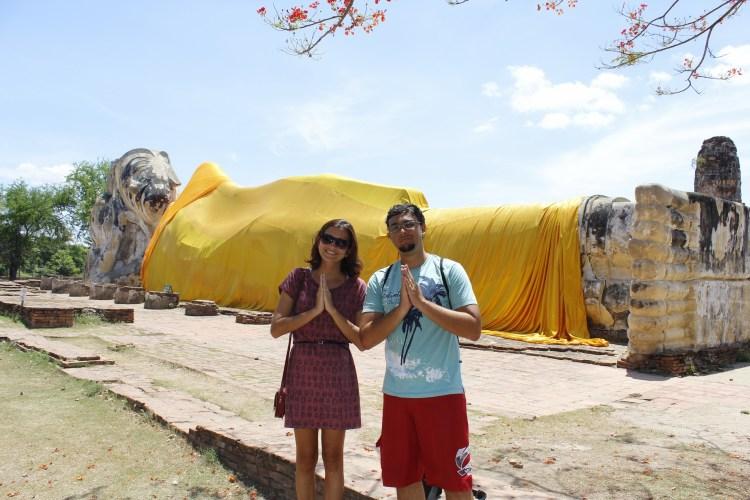 A Karla e o Fred na Tailândia