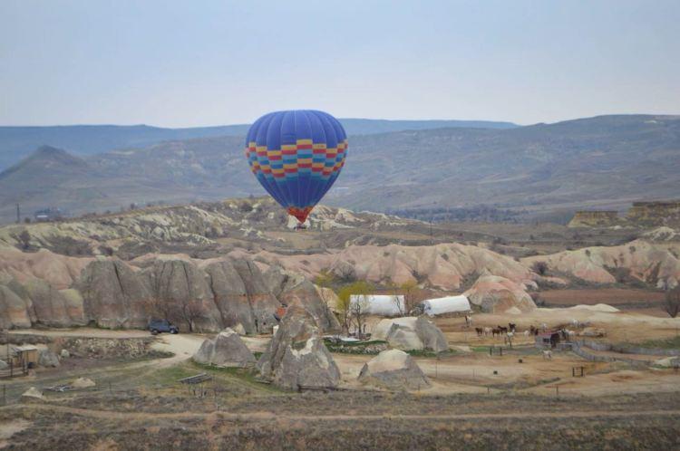 passeio de balão capadocia turquia