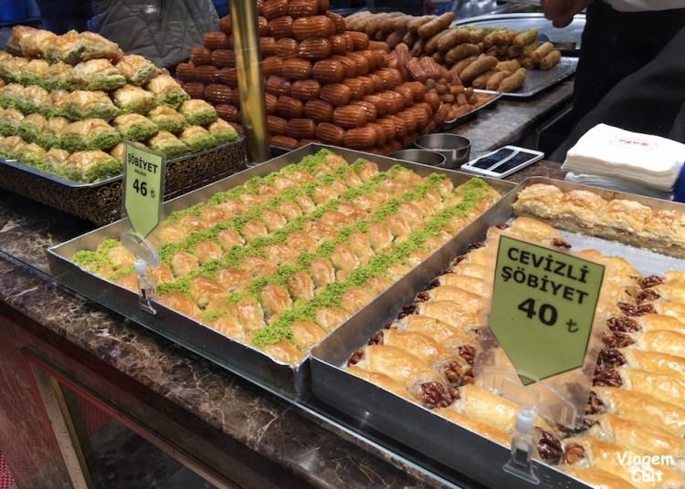 doces turcos