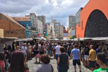 Feirinha do Largo da Ordem, ótimo passeio em Curitiba