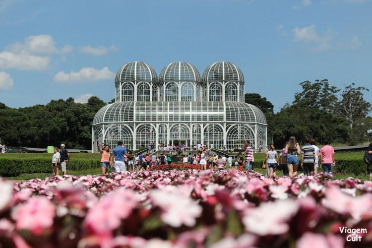 Ponto turistico de Curitiba- jardim-botanico