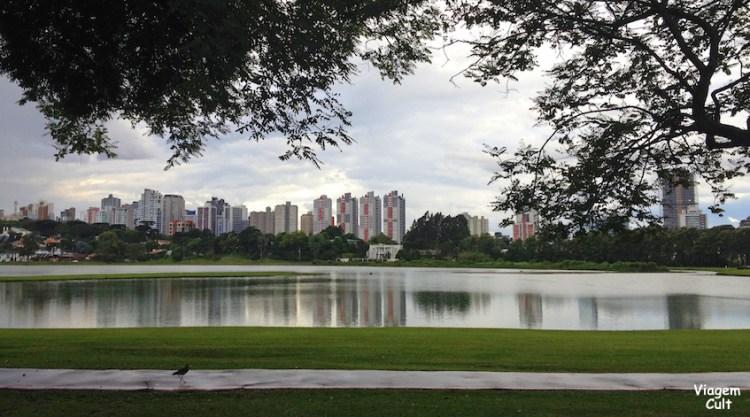 Ponto turistico de Curitiba - parque barigui