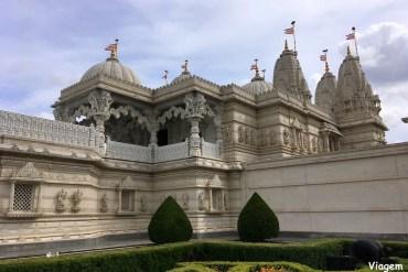 Londres tem um dos maiores templos hindus
