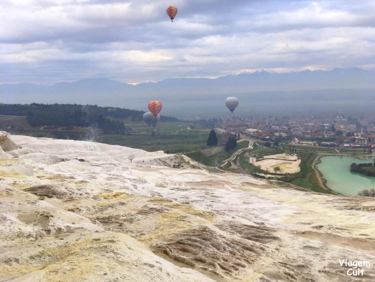 passeio de balão Pamukkale