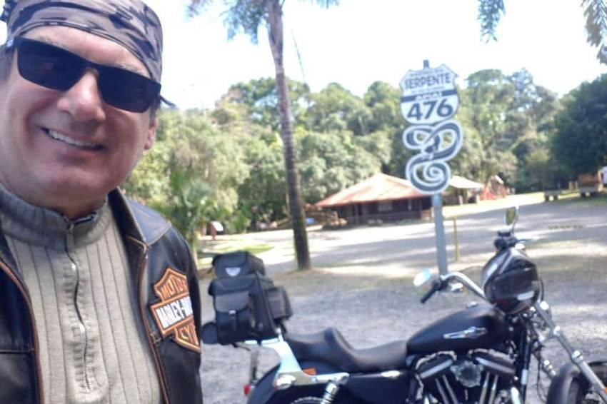 Viagem de Moto Serra do Rio do rastro 2