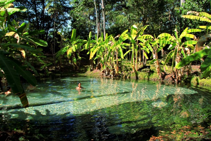 Fervedouro do Soninho, piscina natural no Jalapão, destino indicado para outubro (foto: Eduardo Vessoni)
