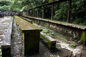 Detalhe da antiga prisão de Gorgona, na Colômbia que, atualmente, é um parque nacional em pleno Pacífico (foto: Eduardo Vessoni)