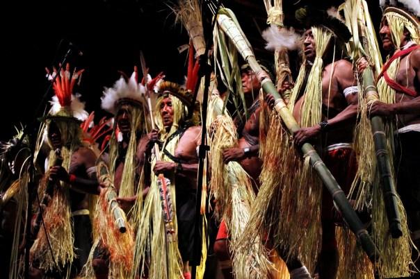Índios Ikolen-Gavião, em Ji-Paraná, Rondônia