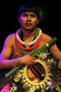 Uraan Suruí (foto: Eduardo Vessoni)