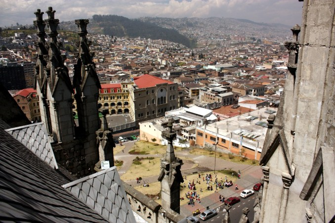 "1º LUGAR: Quito, a capital do Equador, ficou em primeiro lugar na categoriua ""Melhores Destinos da América do Sul, segundo o World Travel Awards (foto: Eduardo Vessoni)"