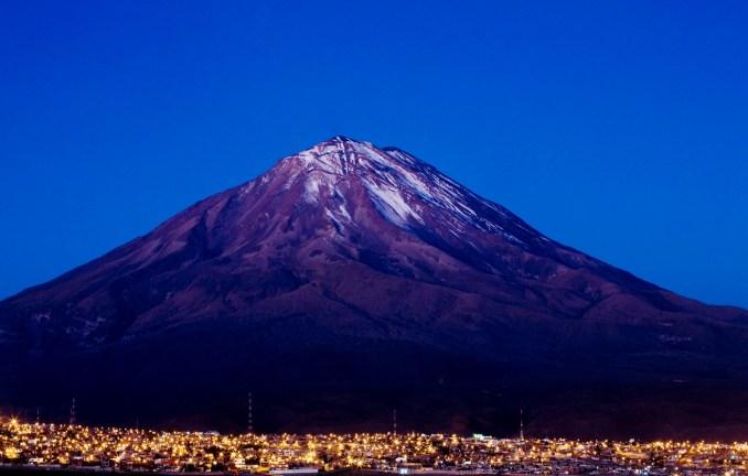 Vulcão Misti, no Peru (foto: Divulgação)