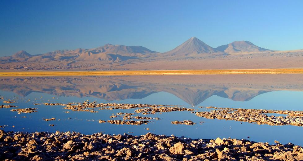 Vulcão Licancabur, entre o Chile e a Bolívia (foto: Eduardo Vessoni)