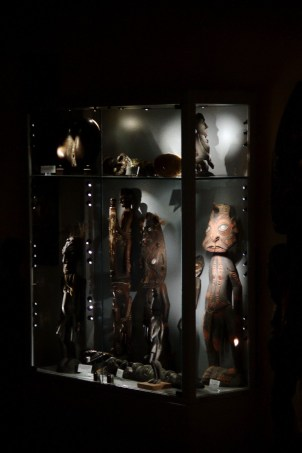 Peças do World Erotic Art Museum, em Miami (foto: Eduardo Vessoni)