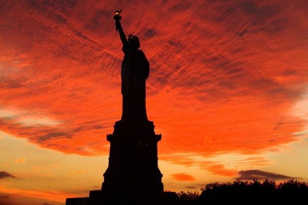 Final de tarde em Nova Iorque (foto: Eduardo Vessoni)