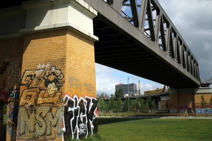 Gleisdreieck Park, no bairro de Kreuzberg, na capital da Alemanha (foto: Eduardo Vessoni)