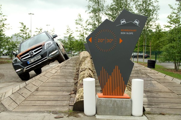 Test Drive GLK, em Bremen (foto: Eduardo Vessoni)