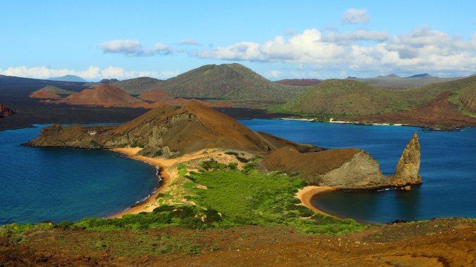 Arquipélago de Galápagos, a mil km da costa equatoriana (foto: www.ecuador.travel)