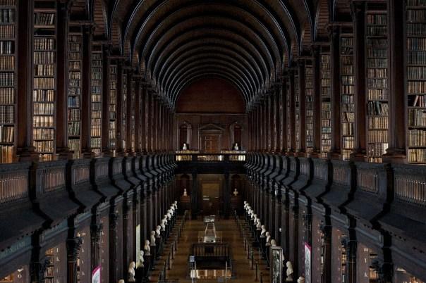 Long Room (foto: Trinity College Dublin / Gillian Whelen)