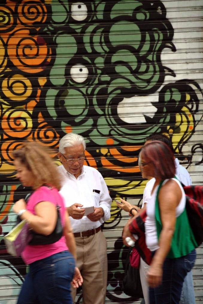 Grafite no bairro da Liberdade (foto: Eduardo Vessoni)