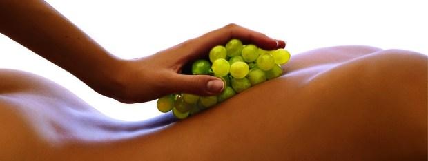 Detalhe de um dos tratamentos com uvas do hotel Spa do VInho, na Serra Gaúcha (foto: Divulgação)