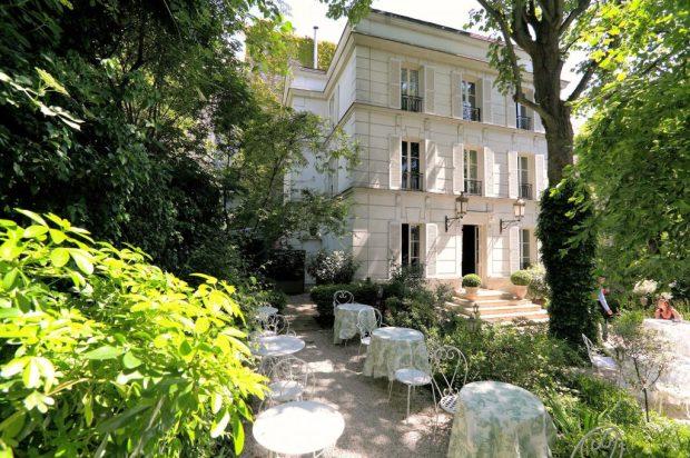 Fachada do Hôtel Particulier Montmartre, em Paris (foto: Divulgação)