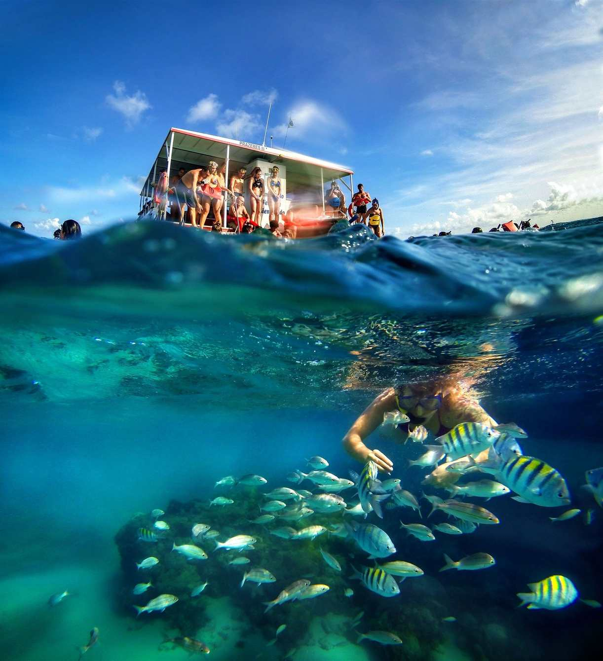 Maracajaú: piscinas em alto mar, no litoral do Rio Grande do Norte