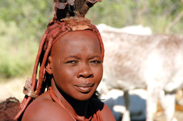 Crianças Himba, na Namíbia (foto: Voyages Lambert/Flickr - Creative Commons)