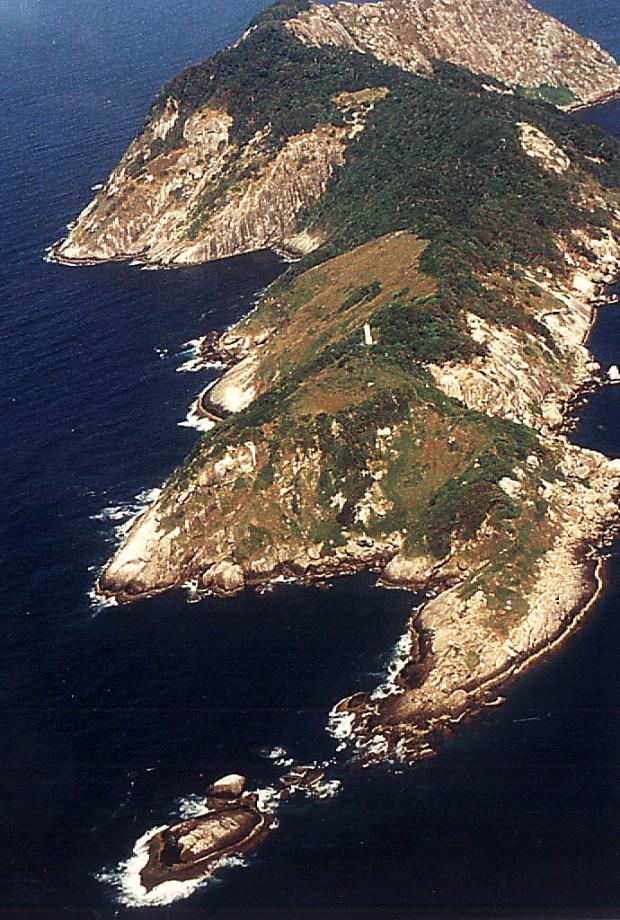 Ilha da Queimada Grande, em Itanhaém (foto: Prefeitura Municipal de Ianhaém/Flickr-Creative Commons)