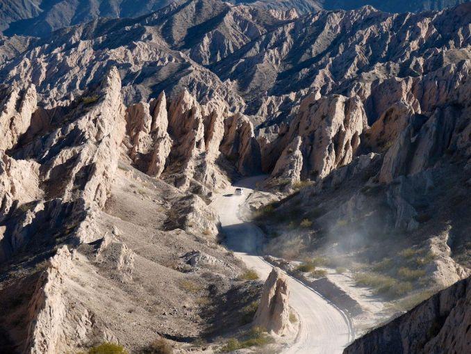 Quebrada de las Flechas, um dos atrativos naturais da Argentina com acesso pela Ruta 40 (foto: Jan Hazevoet/Flickr-Creative Commons)