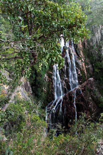 Vista da Ave Maria, cachoeira na Chapada dos Veadeiros (foto: Eduardo Vessoni)