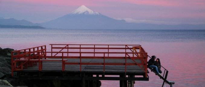 Vulcão Osorno, em Porto Varas (foto: Eduardo Vessoni)