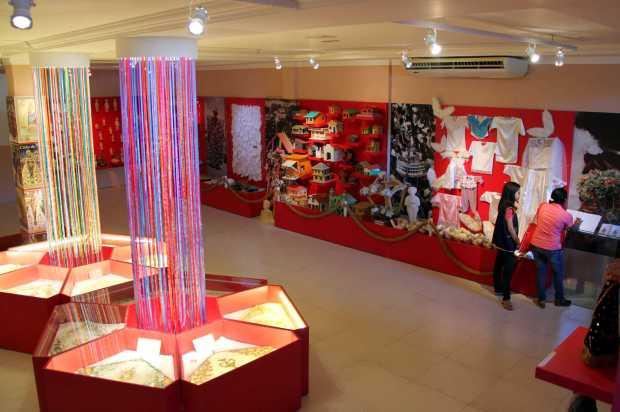 Vista do interior do museu Memória de Nazaré, em Belém, capital do Pará (foto: Círio de Nazaré/Divulgação)