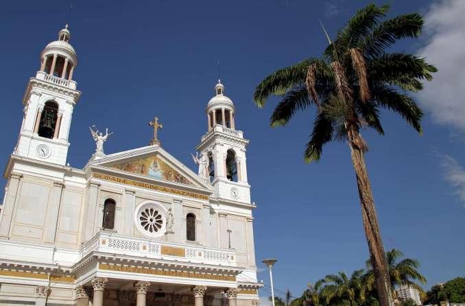 Basílica Santuário de Nazaré, em Belém (foto: Eduardo Vessoni)