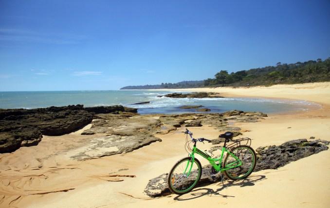 Itapororoca, faixa de areia de Trancoso (foto: Eduardo Vessoni)