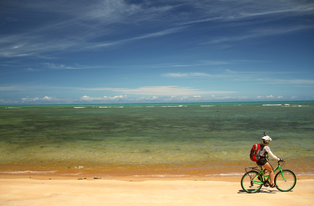 Jacumã, praia que fica no roteiro que vai de Trancoso à Praia do Espelho, no litoral sul da Bahia (foto: Eduardo Vessoni)