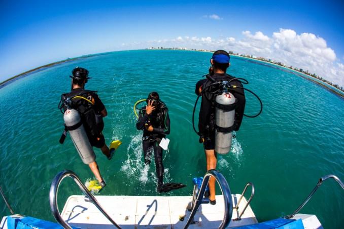 Mergulho em Maceió (foto: Semptur/Divulgação)