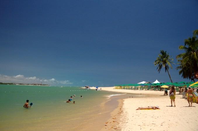 Praia do Gunga, no litoral sul de Alagoas (foto: Eduardo Vessoni)