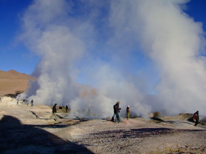Gêiseres da Provincia Sud Lípez (foto: Eduardo Vessoni)