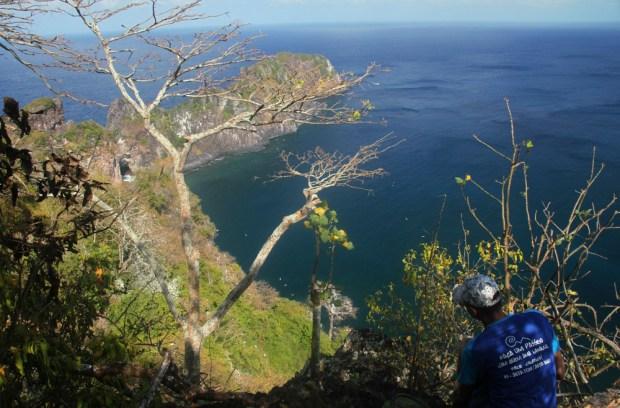 Vista da Ponta da Sapata, uma das atrações da trilha do Capim Açu (foto: Eduardo Vessoni)