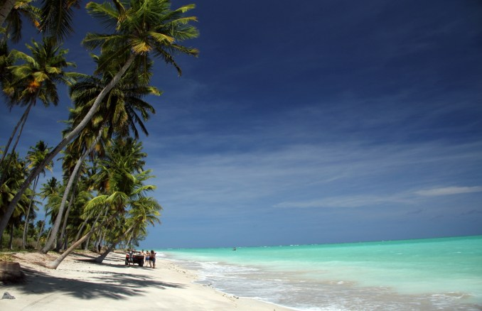 Praia de Antunes, no litoral norte de Maragog (foto: Eduardo Vessoni)