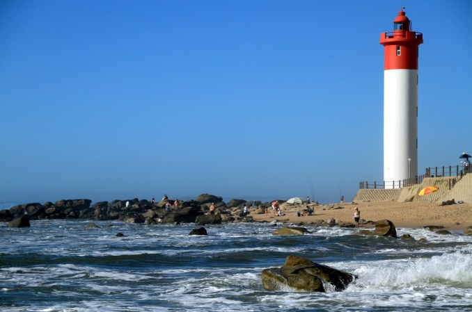 Umhlanga Beach, em Durban, na província de Zwazulu-Natal, África do Sul (foto: Eduardo Vessoni)
