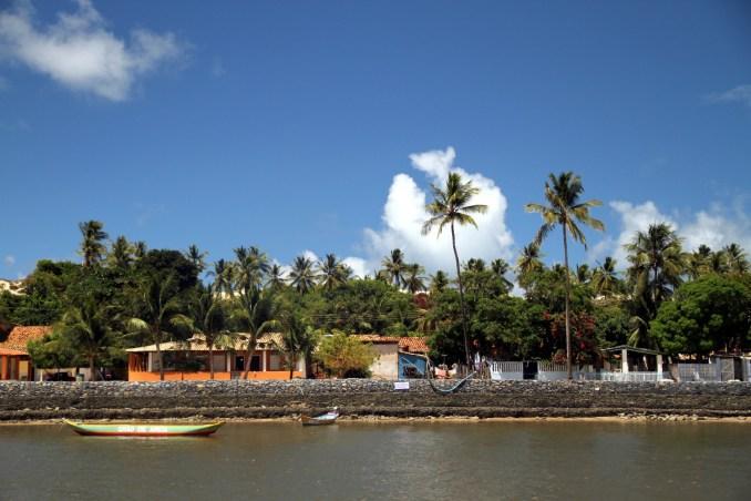 Vista de Mangue Seco, no extremo norte do litoral da Bahia, no limite com Sergipe (foto: Eduardo Vessoni)