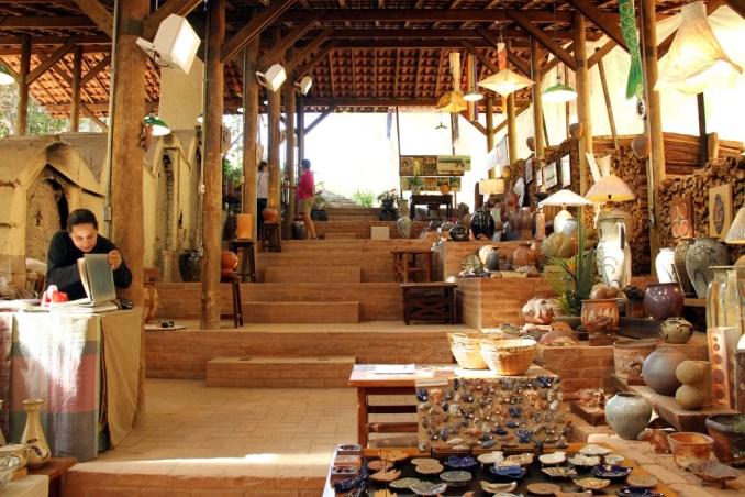 Ateliê Suenaga e Jardineiro, em Cunha (foto: Eduardo Vessoni)
