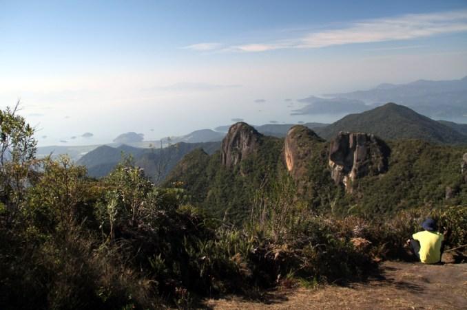 Vista do alto da Pedra da Macela (foto: Eduardo Vessoni)
