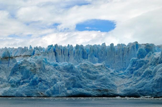Vista do Campo de Gelo do sul da Patagónia (foto: Navimag/Divulgação)